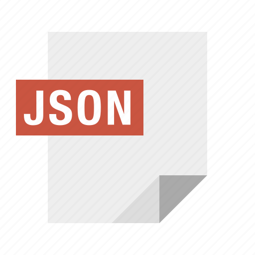 document, file, filetype, json icon