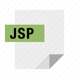 document, file, filetype, java, jsp icon