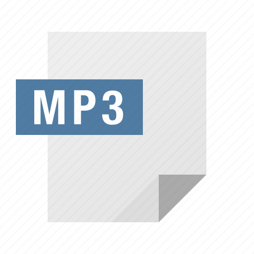 document, file, filetype, mp3, music icon