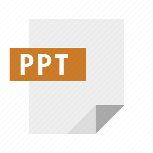 document, file, filetype, powerpoint, ppt icon