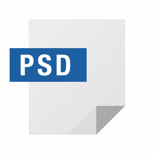 document, file, filetype, photoshop, psd icon