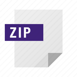 archive, document, file, filetype, zip icon