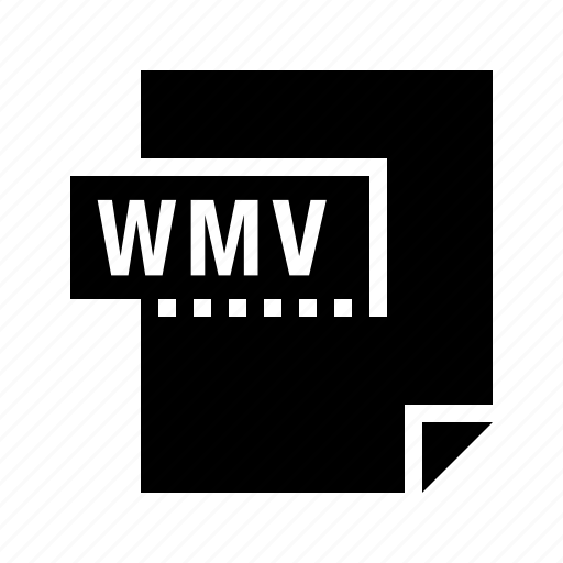 document, file, filetype, wmv icon
