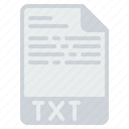document, extension, file, format, notepad, text, txt icon