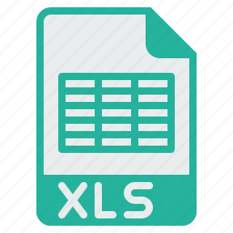 document, excel, extension, file, format, spreadsheet, xls icon