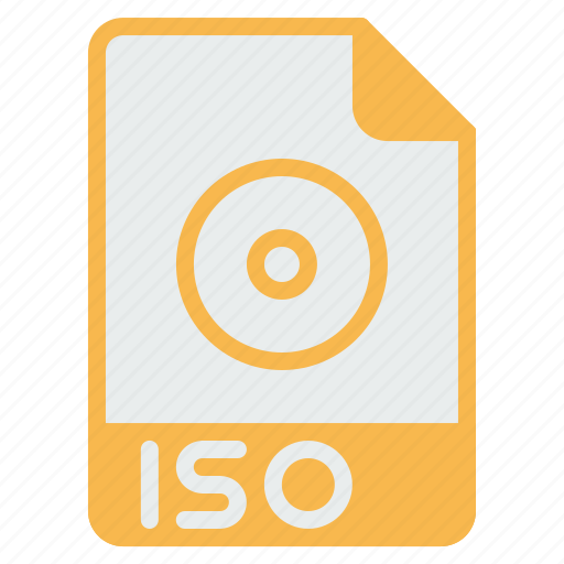 coding, document, extension, file, format, iso, mounting icon