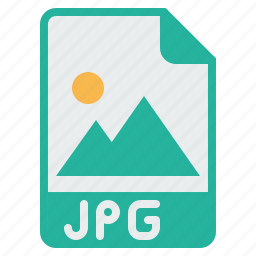 document, extension, file, filetype, image, jpg, picture icon