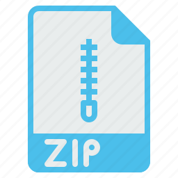 archive, composed, compress, document, file, format, zip icon
