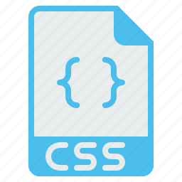 coding, css, designing, extension, file, filetype, web icon