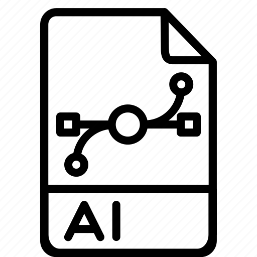 adobe, ai, document, extension, file, filetype, illustrator icon