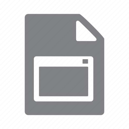 exe, executable, file, format icon