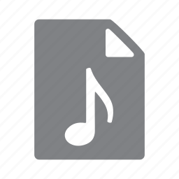 file, filetype, format, mp3, music, wav icon