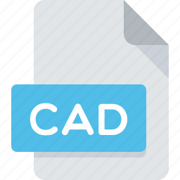 cad, document, extension, file, type icon
