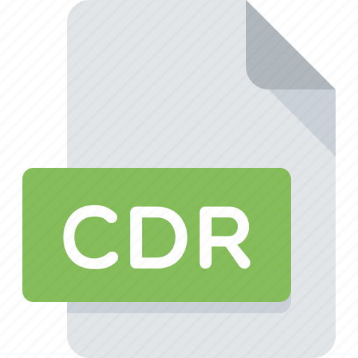 cdr, document, draw, extension, file, type icon