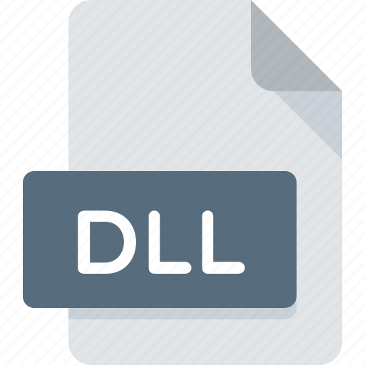 dll, document, extension, file, type icon