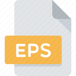 document, eps, extension, file, illustrator, type icon