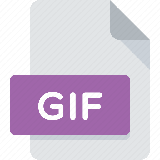 document, extension, file, gif, image, type icon