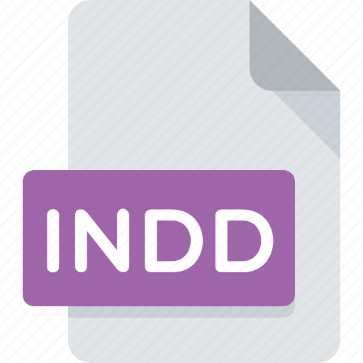 document, extension, file, indd, indesign, type icon