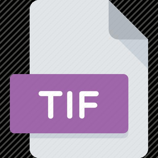 document, extension, file, image, tif, tiff, type icon