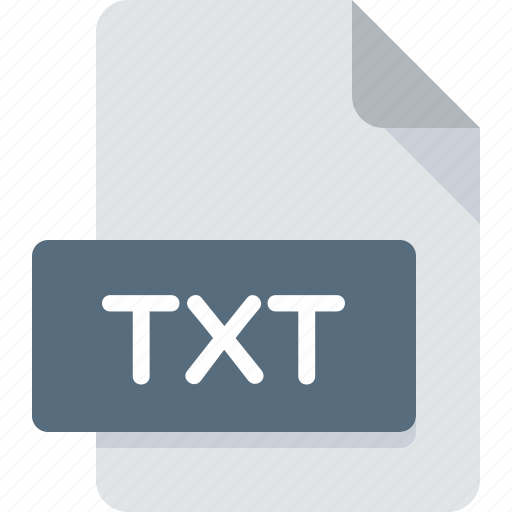 document, extension, file, text, txt, type icon