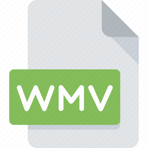 document, extension, file, media, type, wmv icon
