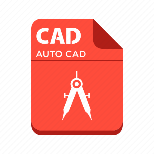 auocad file, cad, file, types icon