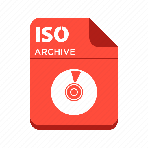 file, iso, types icon