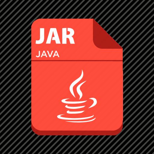 file, jar, java, java file, types icon
