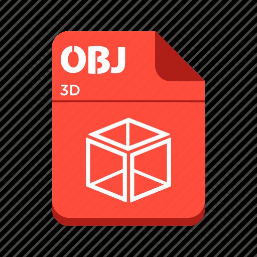 design file, file, obj, types icon
