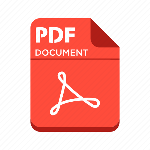 document, file, pdf, types icon