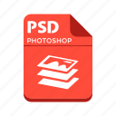 file, photoshop, psd, types icon