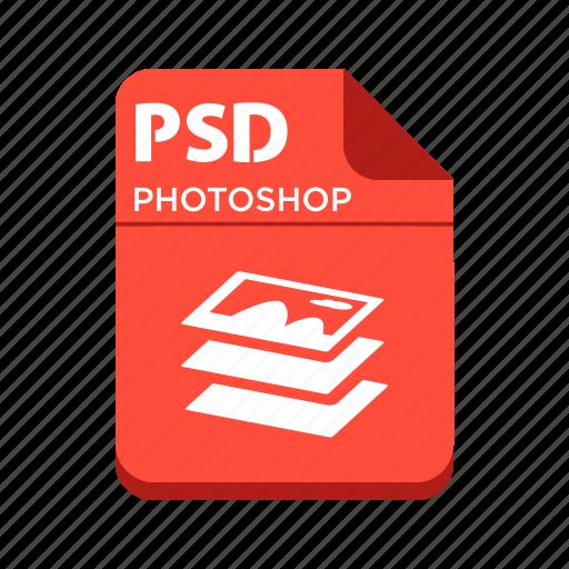 file, photoshop, psd, types icon
