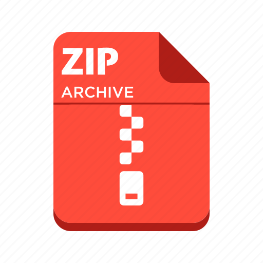 compressed, file, types, zip icon