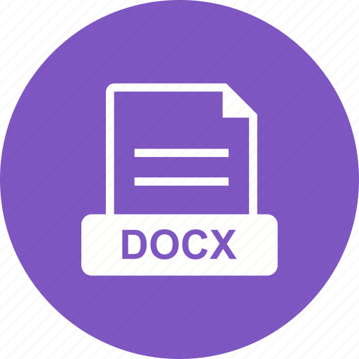 doc, document, docx, file, format icon