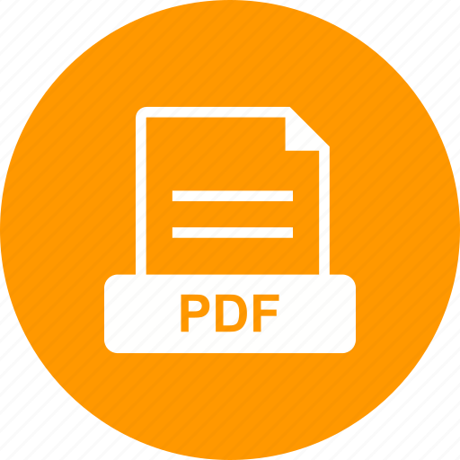 document, format, pdf, portable icon