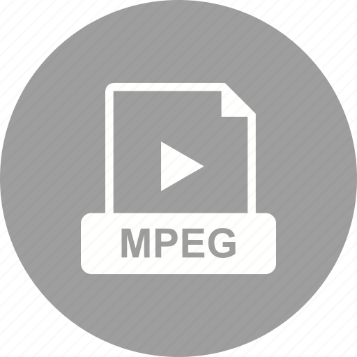 file, format, mpeg, video icon