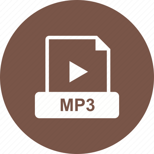 file, format, mp3, video icon