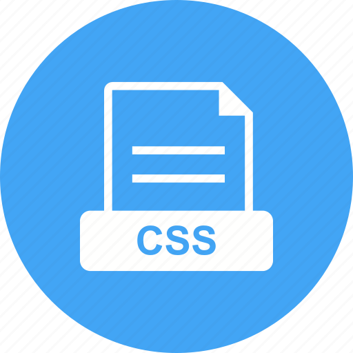 cascading, css, sheet, style icon