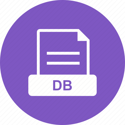 database, db, file, format icon