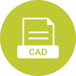 cad, drawing, for, format, models icon