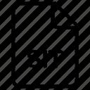 document, file, sit icon