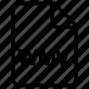 document, wmv, file icon