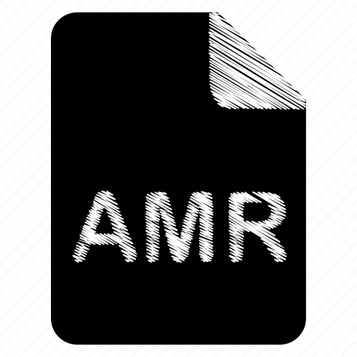 amr, document, file icon
