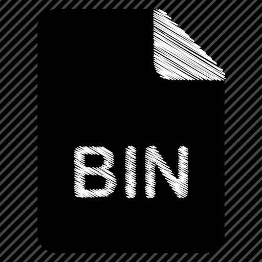 bin, document, file icon