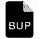 bup, document, file