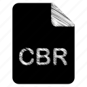 cbr, document, file icon