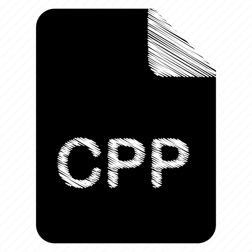 cpp, document, file, format, type icon
