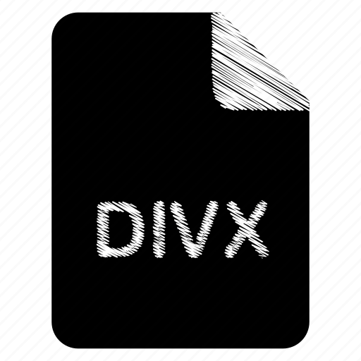 divx, document, file, format, type icon