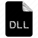dll, document, file icon