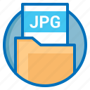 document, extension, file, jpg